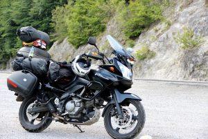 Motorrad im Ausland