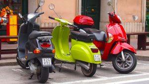 verschiedene-motorroller