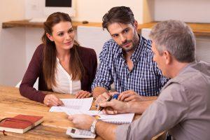Kredit Umschuldung Beratungsgespräch