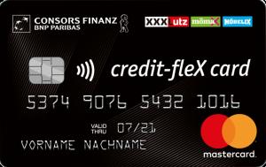 credit-flex-Kreditkarte