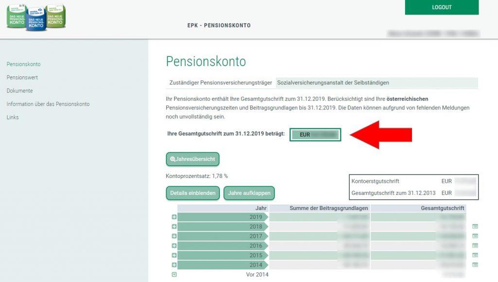 pensionskonto-online-abfrage